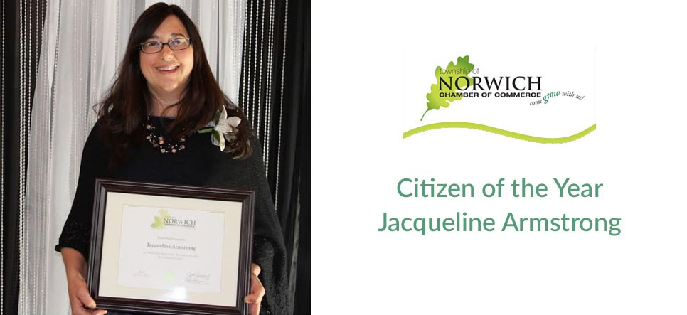 Citizen of the Year Jacqueline Armstrong